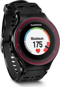 Garmin Forerunner 225 ha un display LCD a colori non touchscreen