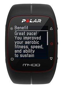 La batteria del GPS da corsa Polar M400 dura circa 8 ore con GPS attivo.