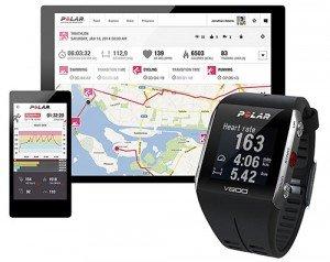 Polar V800 è dotato di un tracking GPS ottimo