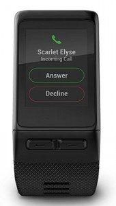 Garmin Vivoactive HR permette di gestire le notifiche del telefono direttamente sull'activity tracker