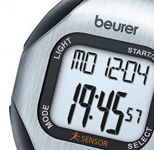 Con quest'orologio da polso cardiofrequenzimetro senza fascia toracica firmato Beurer PM 18, è possibile impostare un grado di allenamento personalizzato