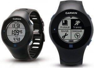 Lo schermo del Garmin Forerunner 610 GPS è ben visibile e chiaro (2,54 cm di diametro), dal quale potrete consultare tutti i dati, in modo efficace e semplice grazie alla risoluzione di 128 x 128 pixel