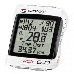 Il Sigma Sport Rox 6.0 non è dotato di un GPS